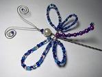 что нам нужно для плетения фигурки стрекозы, . из бисера нам . схемы плетения и . Схема плетения стрекозы из бисера...