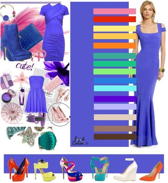 Правильно подбирать цвета в одежде