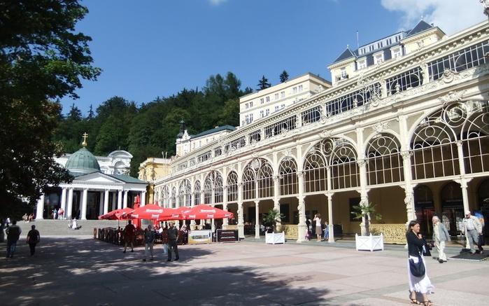Курорт Марианске Лазне - зелёная жемчужина Чехии. 50754