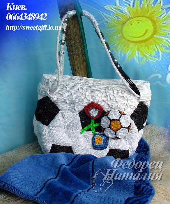 пляжные сумки из пакетов - Сумки.