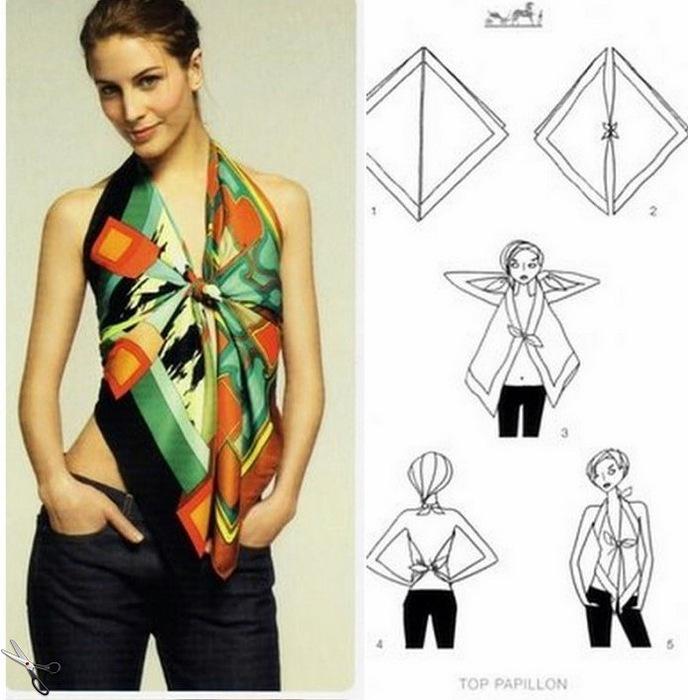 丝巾的服装 - maomao - 我随心动