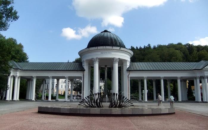 Курорт Марианске Лазне - зелёная жемчужина Чехии. 87134