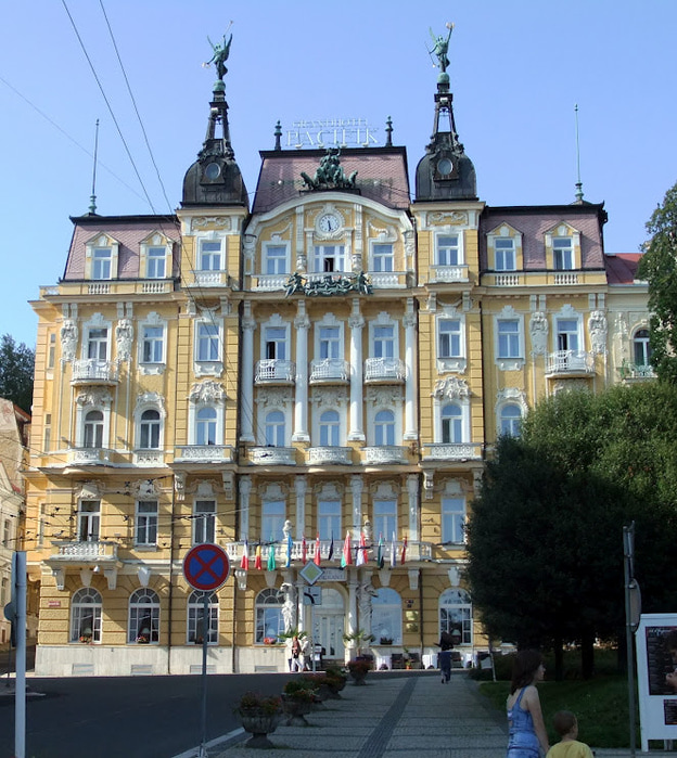 Курорт Марианске Лазне - зелёная жемчужина Чехии. 91529