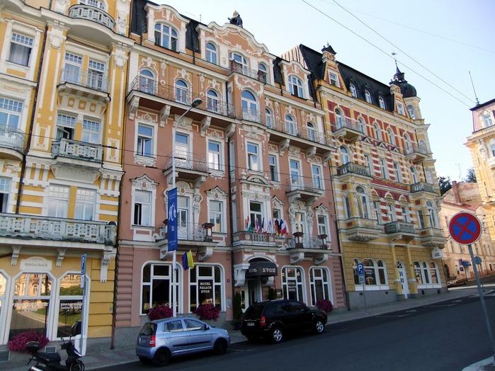Курорт Марианске Лазне - зелёная жемчужина Чехии. 22143