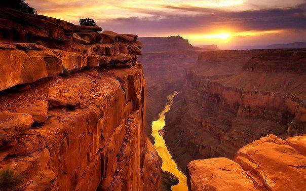 Гранд-Каньон, штат Аризона, США (604x377, 50Kb)