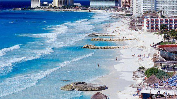 Побережье Канкуна, Мексика (604x340, 60Kb)