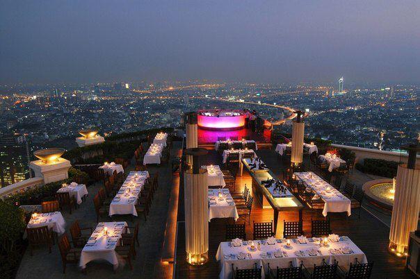 Ресторан на 67 этаже, Бангкок, Таиланд (604x402, 49Kb)