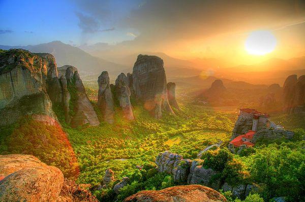 Метеоры в горах Фессалии, Греция