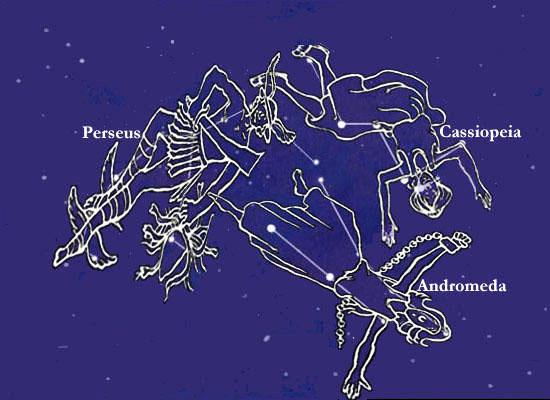 Созвездия - Персея, Андромеды