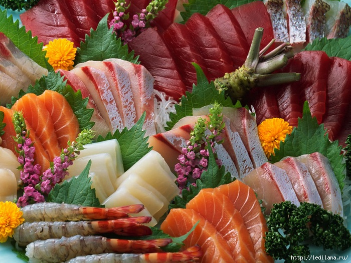 рыба и морепродукты (700x525, 306Kb)