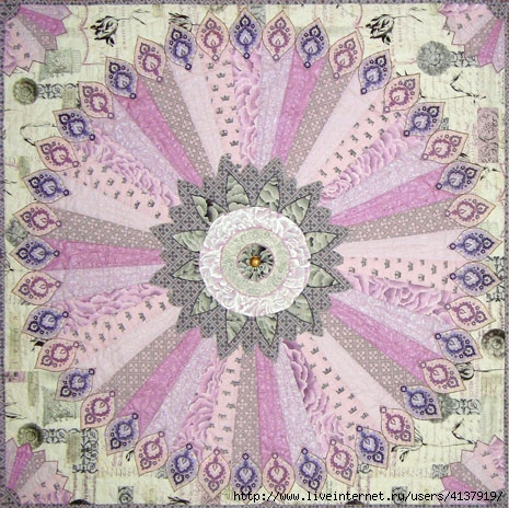 Antiquities Medallion, by Marinda Stewart for Michael Miller Fabrics.com (465x464, 221Kb)