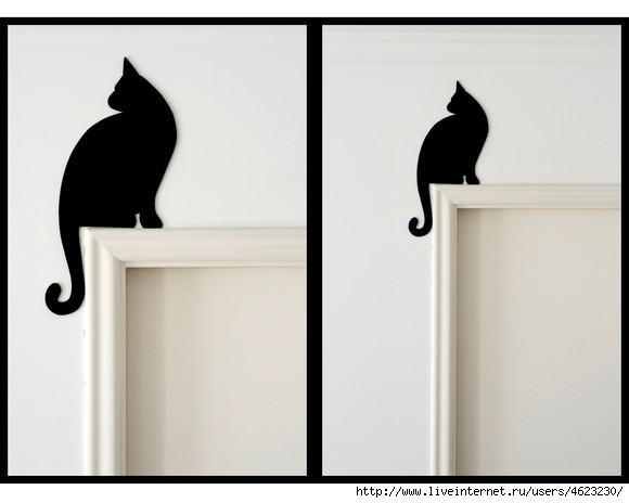 欣赏:漂亮的屋内门框装饰 - maomao - 我随心动