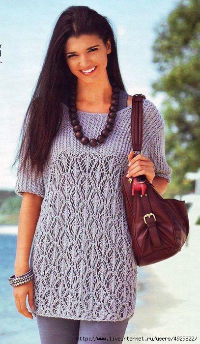 Симпатичная блузочка!