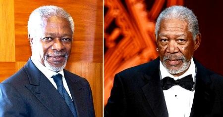 Кофи Аннан и Фриман (450x237, 44Kb)