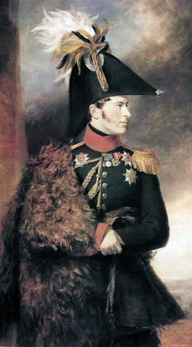 Д. Доу. Портрет генерал-адъютанта князя А.С. Меншикова (388x700, 45Kb)
