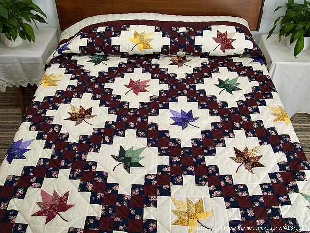 """лоскутное одеяло """"Разноцветная"""