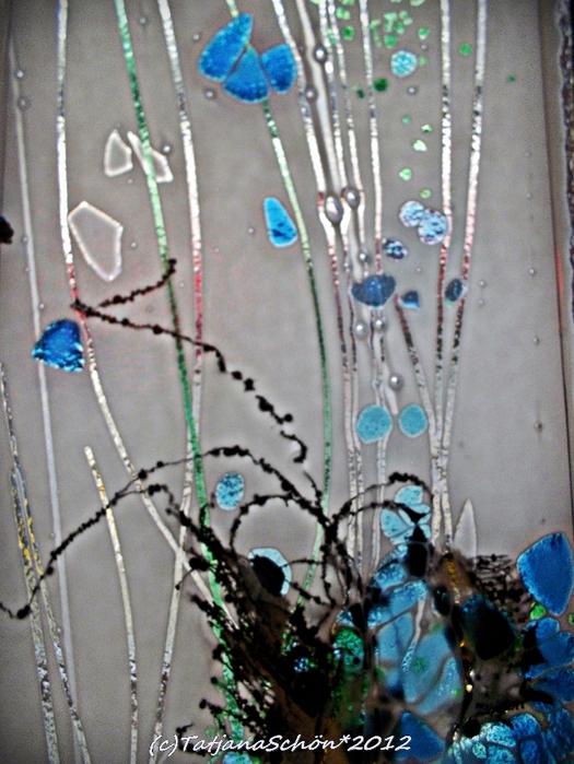Сентябрь. Дюссельдорф. В галерее в районе Карлштадт. Стекло, фрагмент.