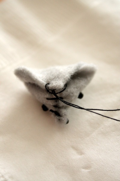 可爱的手工:睡觉的老鼠(研讨会) - maomao - 我随心动