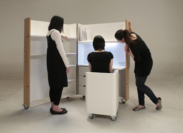 мебель трансформер для маленькой квартиры 4 (600x437, 83Kb)