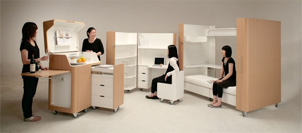 мебель трансформер Kenchikukagu/4552399_ (600x264, 37Kb)