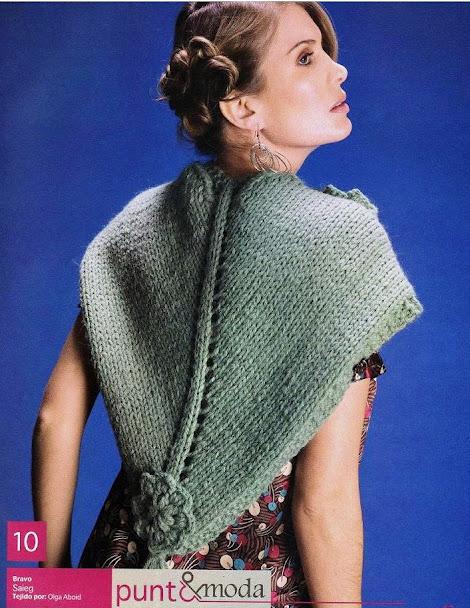 不平常的针织披肩 - maomao - 我随心动