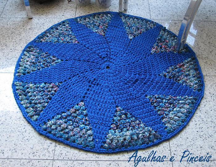 圆形地毯织物 - maomao - 我随心动