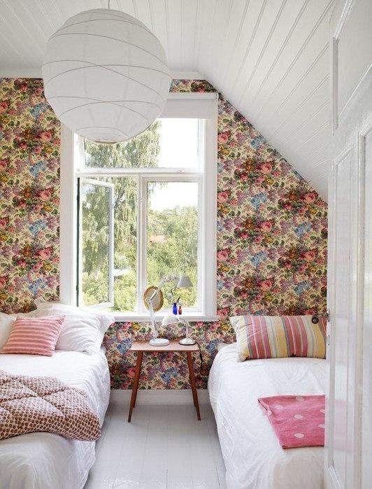 Дизайн дачной комнаты фото