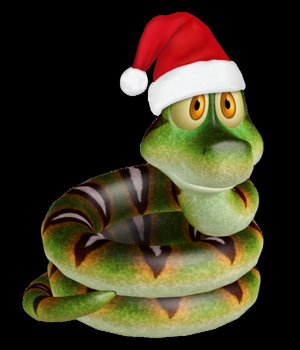 Christmas_Toon _Snake_2 (600x700, 329Kb)