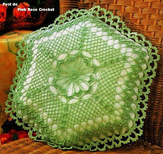 Almofada Verde Crochet Hex. (526x496, 84Kb)