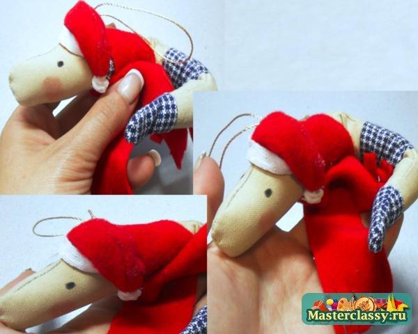 Елочные игрушки Змея 2013 своими руками Мастер класс с пошаговыми фото