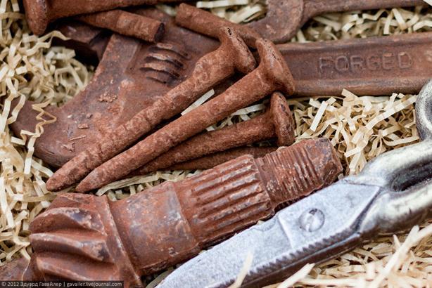 Фотографии. Необычайный шоколад на выставке Import Shop в Берлине