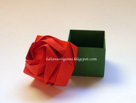 схема розы Кавасаки.