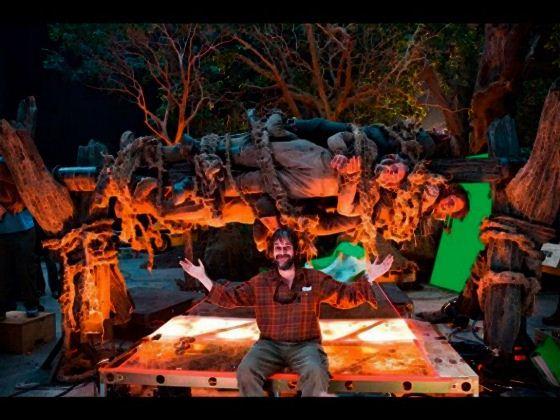 За кадром фильма «Хоббит: Неожиданное путешествие» Фотографии со съемочной площадки