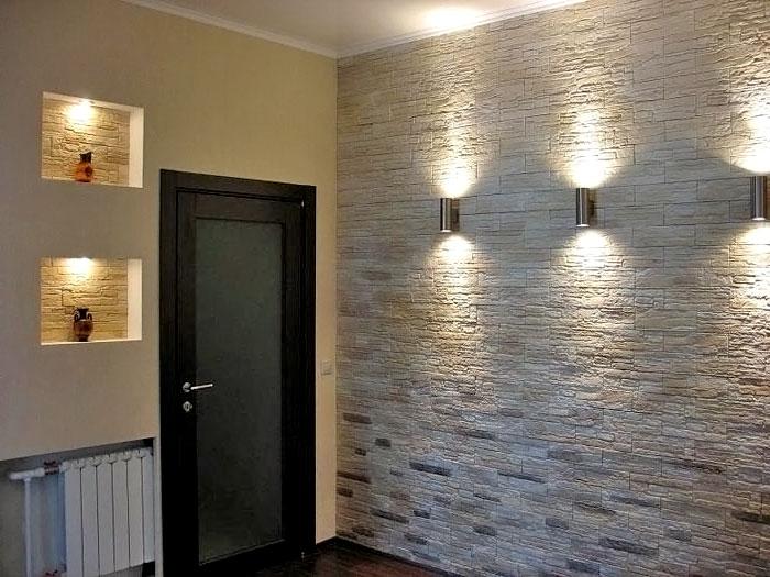 Как выбрать материал для отделки стен в прихожей