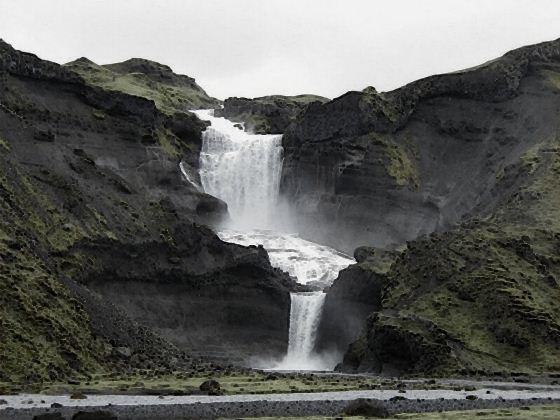 Водопады Исландии9 (560x420, 44Kb)