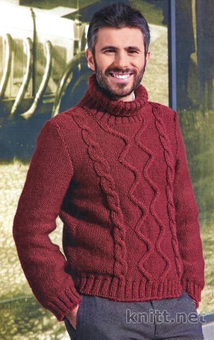 vyazanyj-pulover-dlya-muzhchiny (442x700, 170Kb)