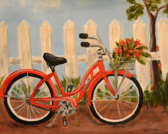 red-bicycle-nancy-wood (700x560, 87Kb)