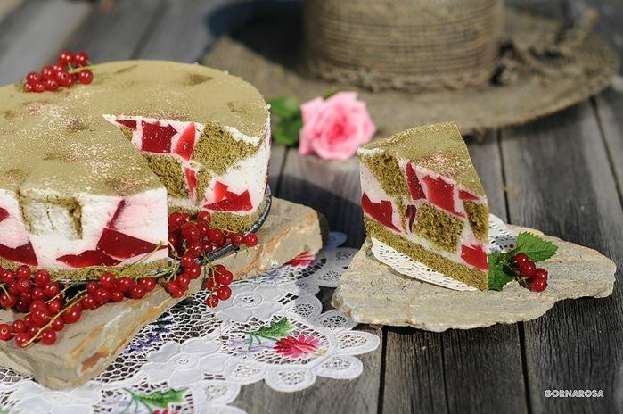 """Торт """"Чайно-рубиновый"""""""