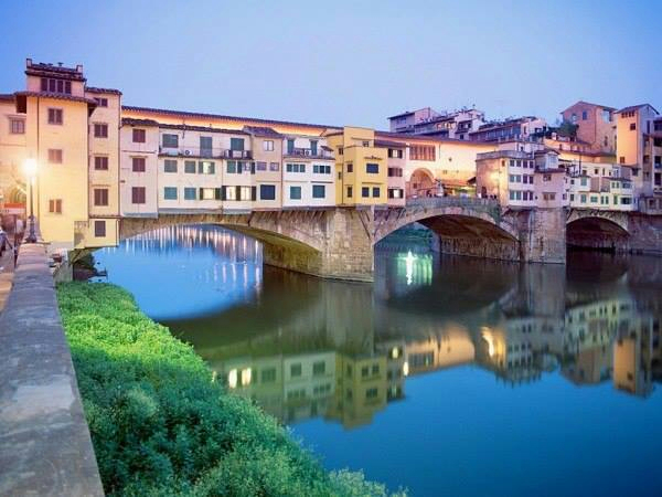 Понте-Веккьо — самый древний мост Флоренции (600x450, 243Kb)