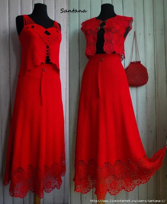 Красный костюм (575x700, 217Kb)