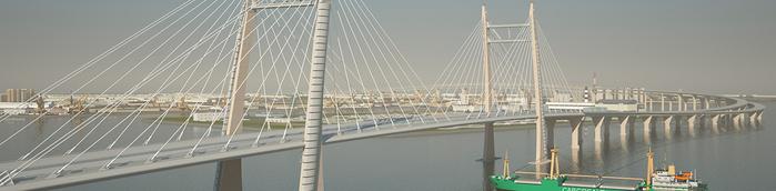 мост через Корабельный форватер (700x172, 130Kb)