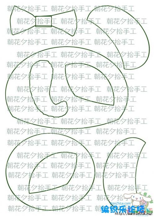 Львенок и слоненок - шьем детскую сумочку (8) (495x700, 263Kb)