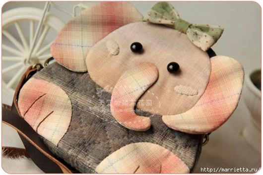 Львенок и слоненок - шьем детскую сумочку (12) (530x353, 139Kb)