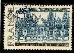 2.5.1.131 Дворец правосудия в Руане Готика 15 евро (254x180, 34Kb)