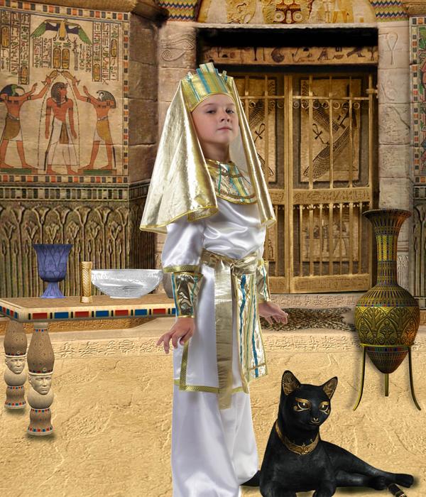 Шаблон детский - Фараон (600x700, 503Kb)