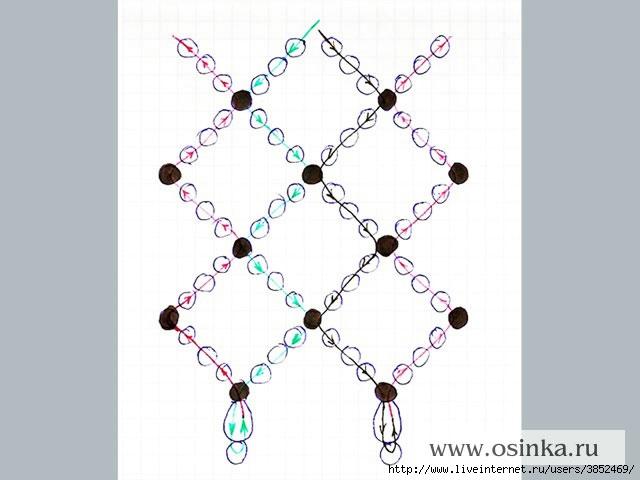 Плетению короны из бисера