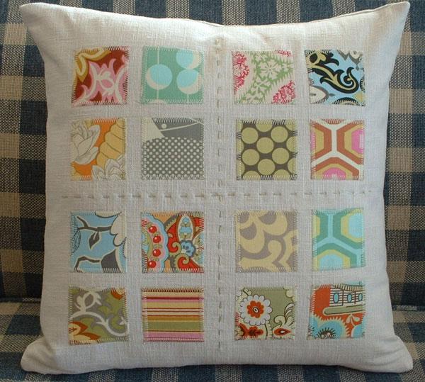 Как сшить декоративную подушку своими руками фото