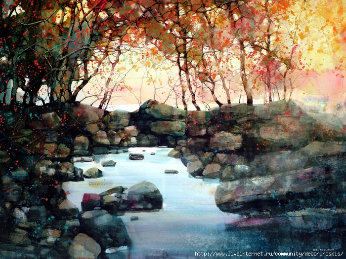 fon_Watercolor_Z.L.Feng_1 (700x525, 403Kb)