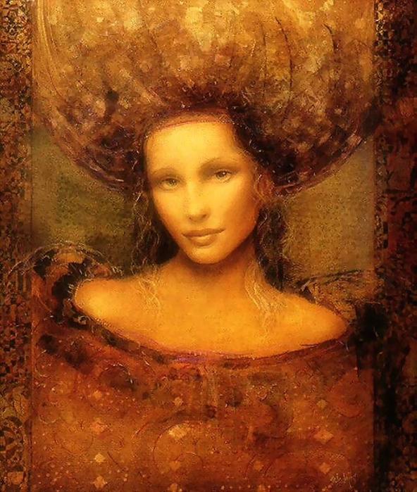 Неземная женщина 1 (592x700, 473Kb)