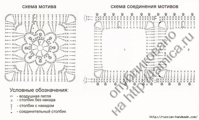Домик - грелка на чайник крючком (6) (700x422, 197Kb)